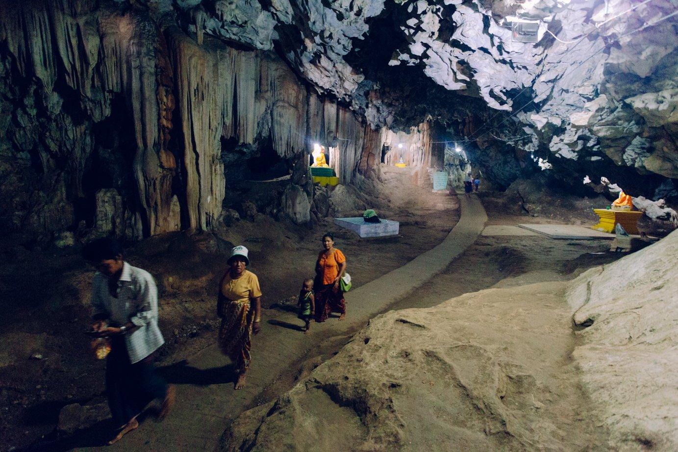 Jaskinie Hpa - An Bayin Nyi
