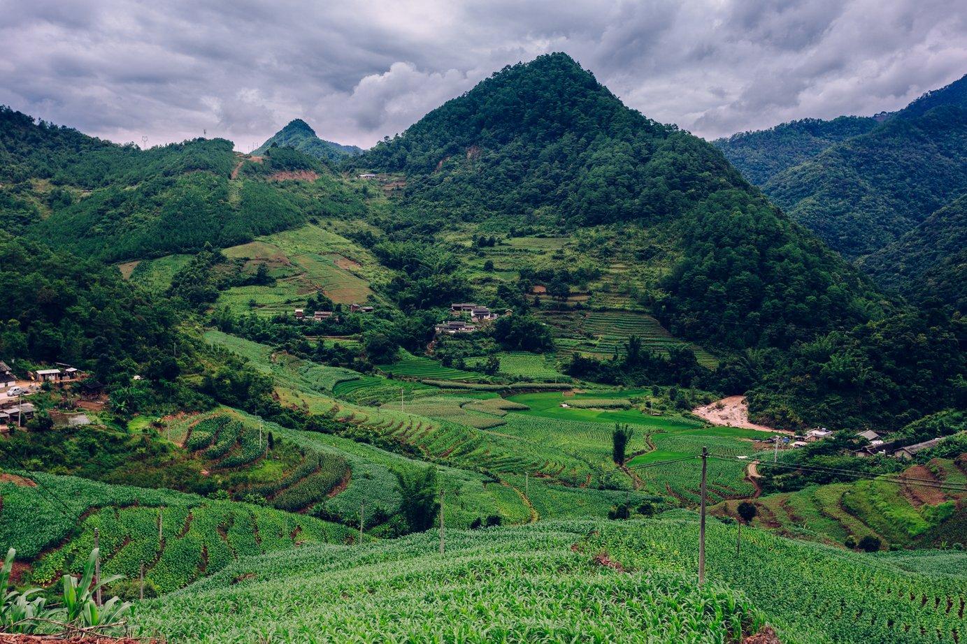 Rowerem przez Yunnan