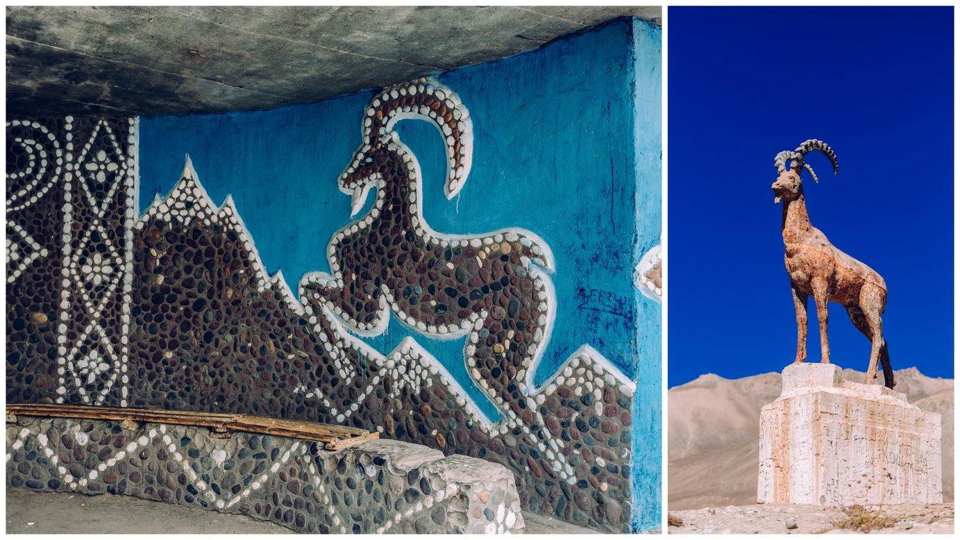 W jednej zeswoich książek, Marco Polo opisał gatunek owiec żyjących wgórach Pamiru. Dziś te zwierzęta są jednym zsymboli Tadżykistanu, znanym jako owce Marco Polo