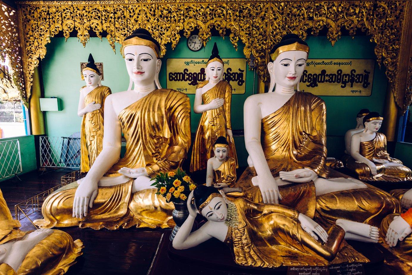 Podróż przez buddyjskie świątynie