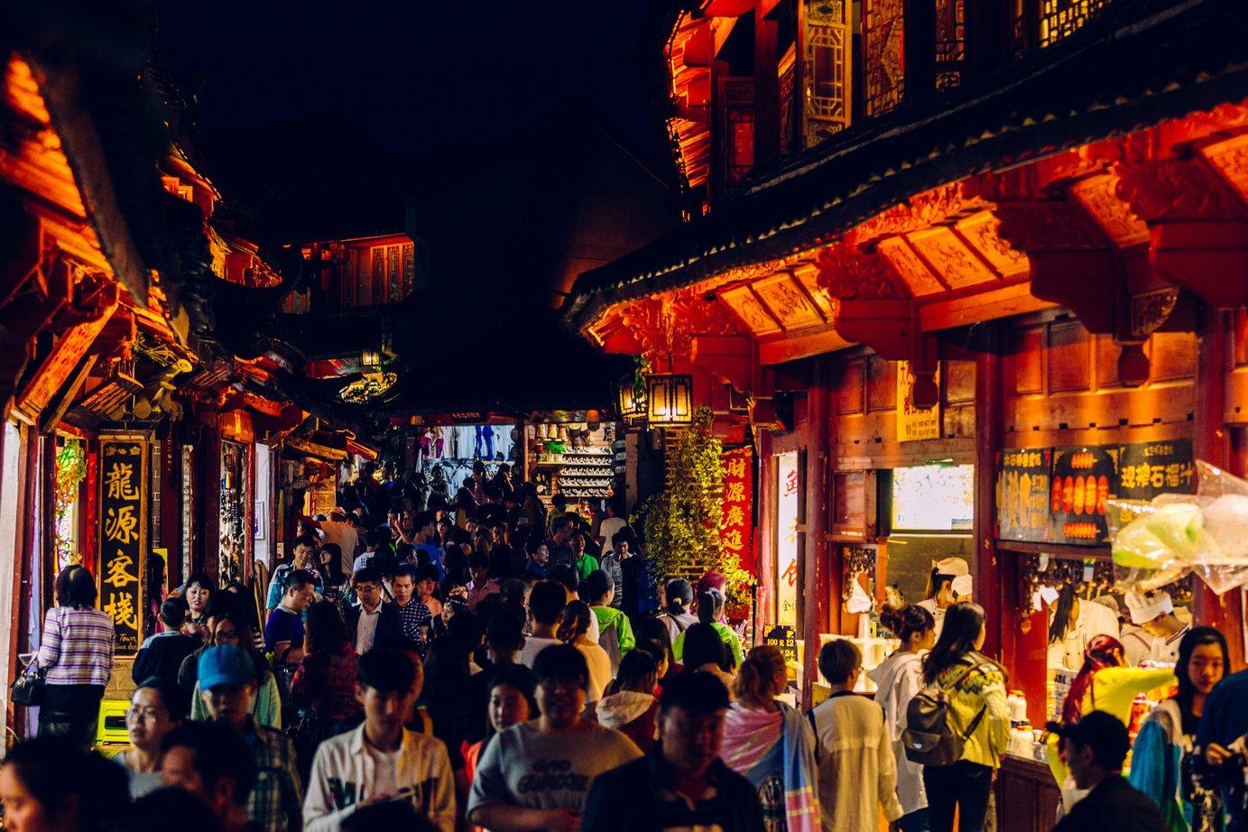 Turystyka masowa wchińskim wydaniu