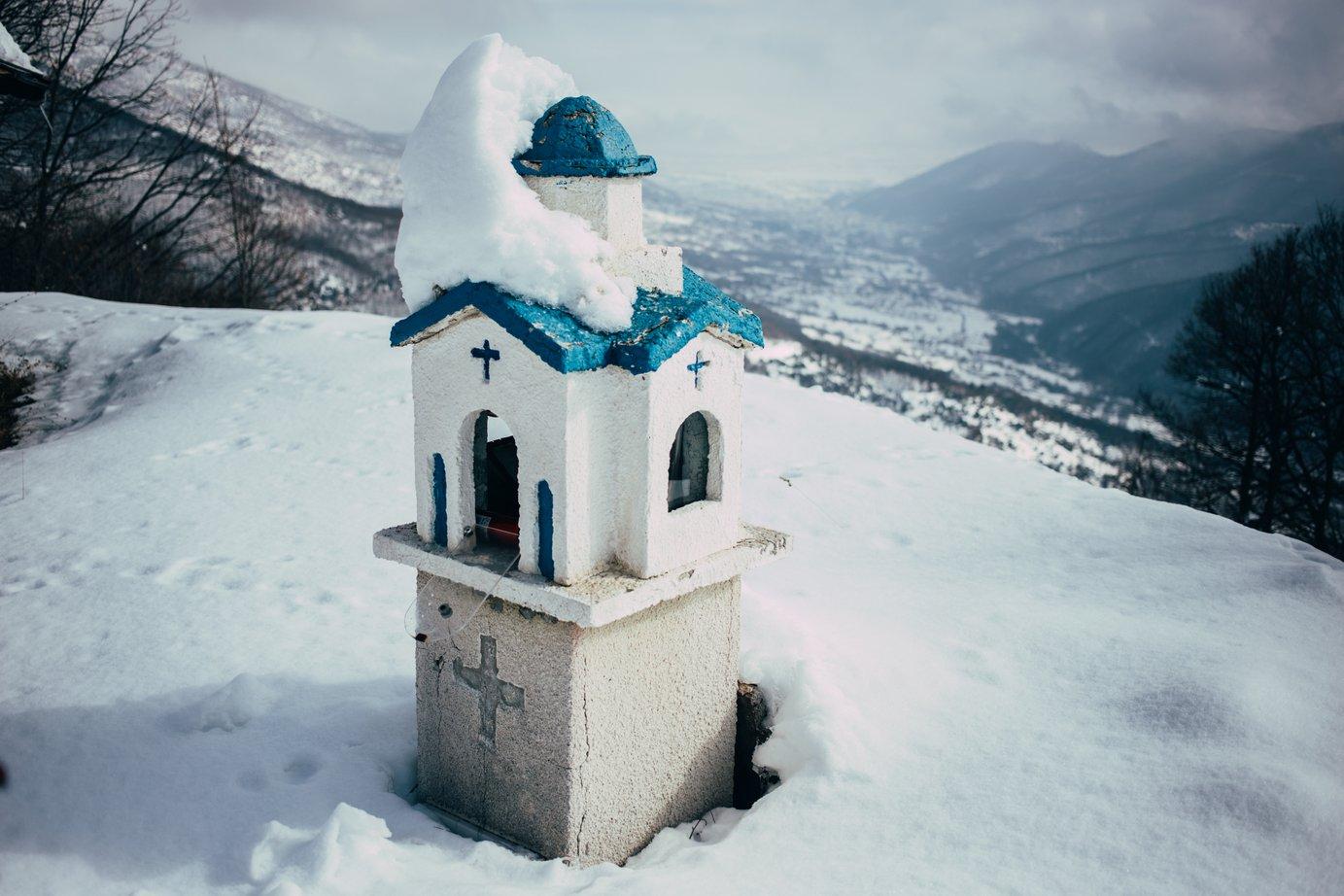 Nasze zimne greckie wakacje