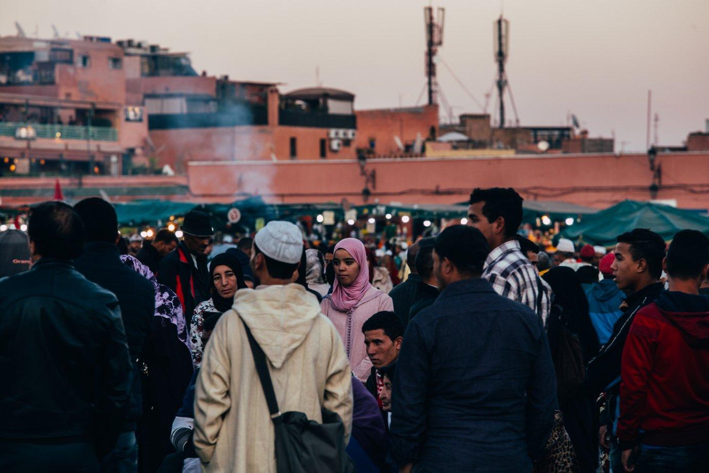 Marrakesz iFez. Przywitanie ipożegnanie Maroka