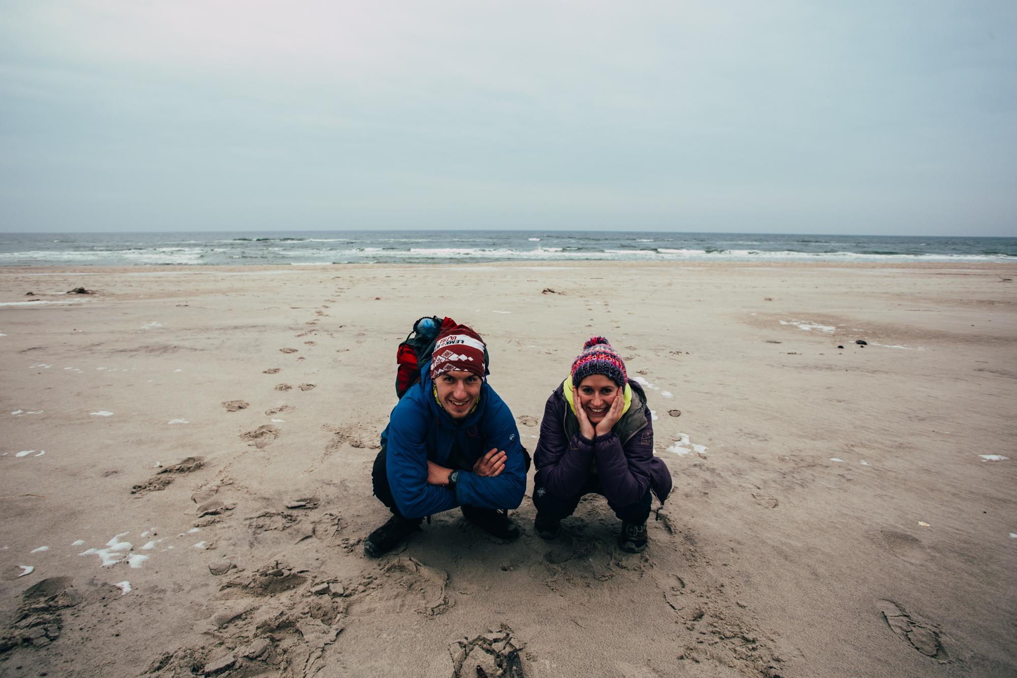 Zbuta naHel – spacer plażą wzdłuż Mierzei Helskiej